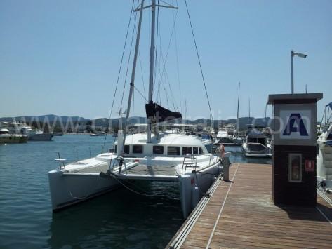 Catamaran de Charteralia en Ibiza