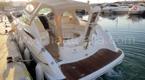 Popa yate de charter Ibiza Prestige 34