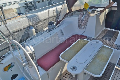 Bañera mesa exterior Oceanis 500 Ibiza