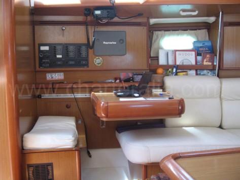 Salon barco Jeanneau Sun Odyssey