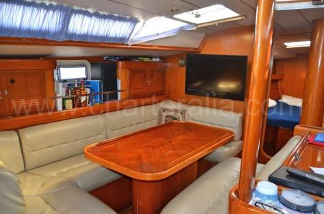 Salon velero Oceanis 500 Ibiza