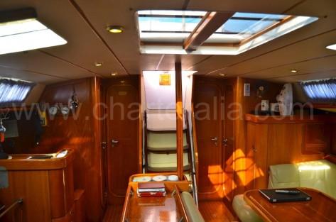 Techo solar velero charter Ibiza