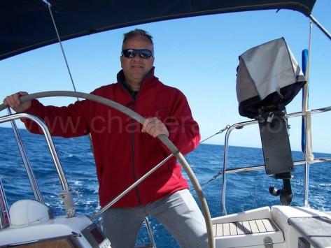 patron profesional de embarcaciones de recreo en Barcelona