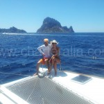 Es Vedra desde el barco en Ibiza