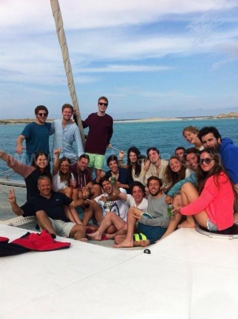 Viaje de fin de curso en Formentera