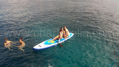 aprender paddle surf en ibiza