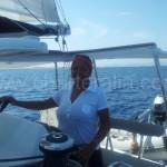 azafata charter de veleros