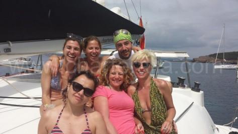 barco de alquiler con amigos en calabassa