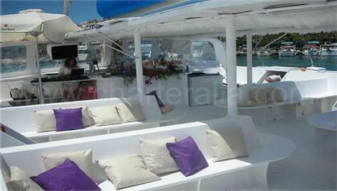 catamaran 50 personas ibiza