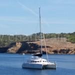 charteralia catamaran alquiler fondeado calabassa
