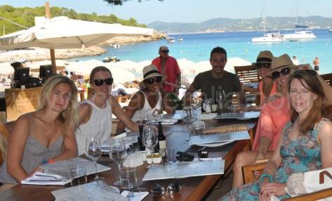 comida calabassa beach club en ibiza