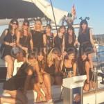 despedidas de soltera de conejitas en embarcacion de alquiler en ibiza