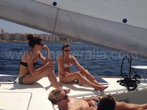 navegar en catamaran no marea