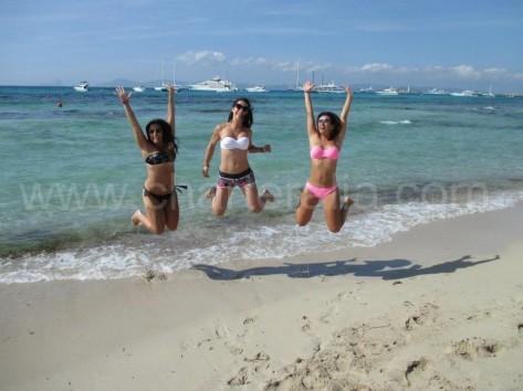 Playa Es Cavallets en Formentera