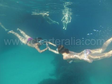 Snorkeling en Ibiza