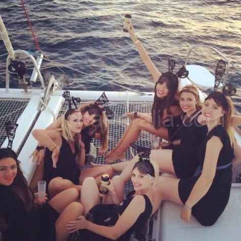 todas las chicas de la despedida de soltera tematica en ibiza