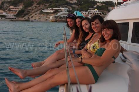 vacaciones en barco en ibiza y formentera