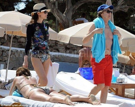 paul McCartney en calabassa Ibiza