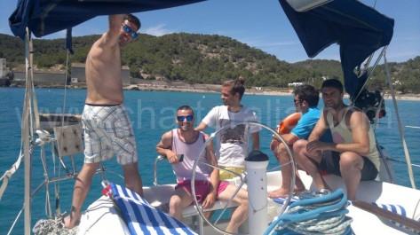Alquiler de barcos en Ibiza para un dia