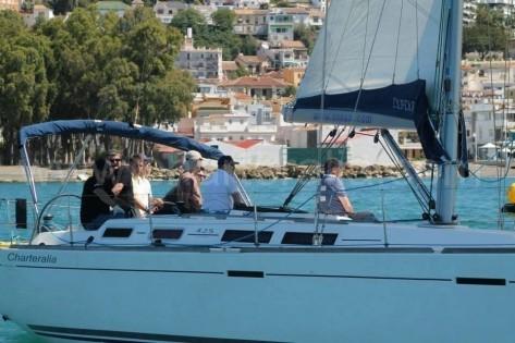 alquiler de velero dufour 425 en ibiza