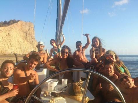 alquiler velero ibiza 11 personas