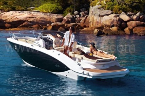 Alquiler lancha San Antonio Ibiza con patron