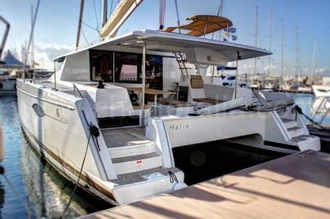 Catamaran Helia 44 de 2015 para alquilar en Ibiza con tripulacion profesional