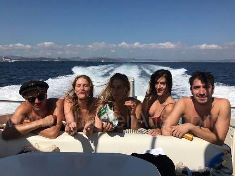 Camargue 46 Sunseeker alquiler de yate de motor en Ibiza
