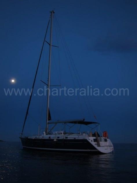 Cenas a la luz de la luna en velero en Ibiza