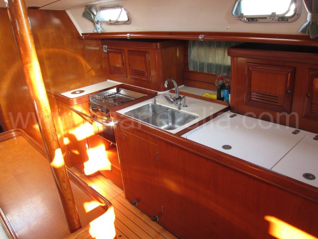 beneteau 50 aire acondicionado velero alquiler ibiza