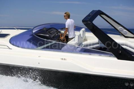 Thunderhawk Sunseeker 43 yate de motor para alquiler en las Islas Pitiusas