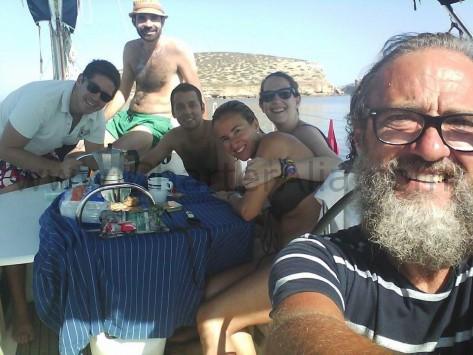 Edorta capitan para charter de yate en Eivissa CharterAlia