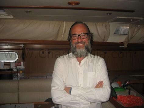 Patron Edorta para CharterAlia barcos para alquiler en Ibiza