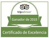 certificado de excelencia español tripadvisor