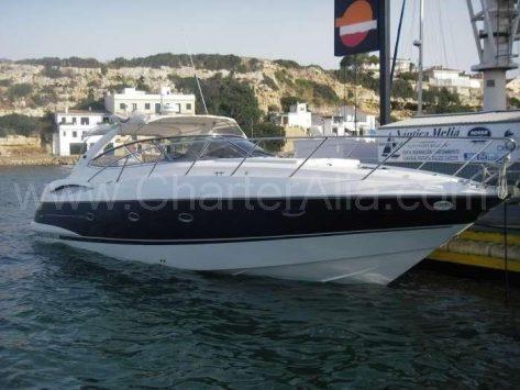 Rentar motora en Ibiza Camargue 46 de Sunseeker