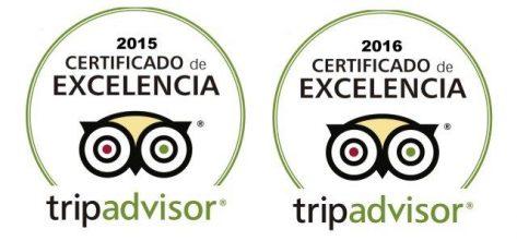 certificado de excelencia CharterAlia alquiler de barcos Ibiza tripadvisor 2015 y 2016