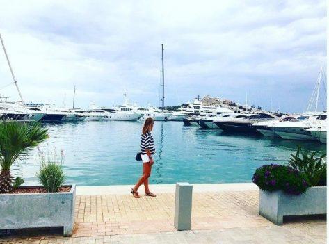 Paseando por Marina Ibiza