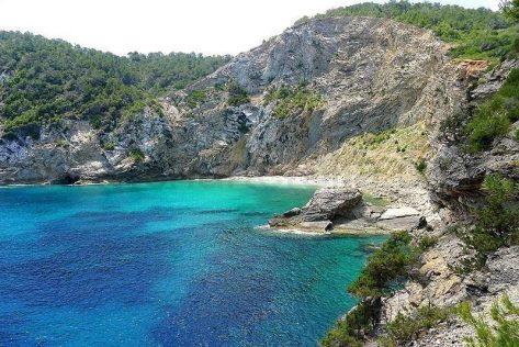 Playa Clot des Llamp en Ibiza