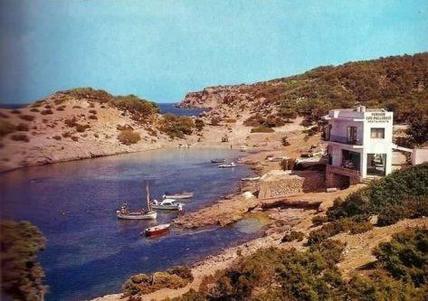 Port Portinatx en el siglo XX