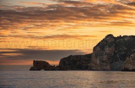 Puesta de sol en Ses Margalides Ibiza