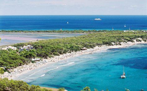 Alquiler de barco Las Salinas Ibiza