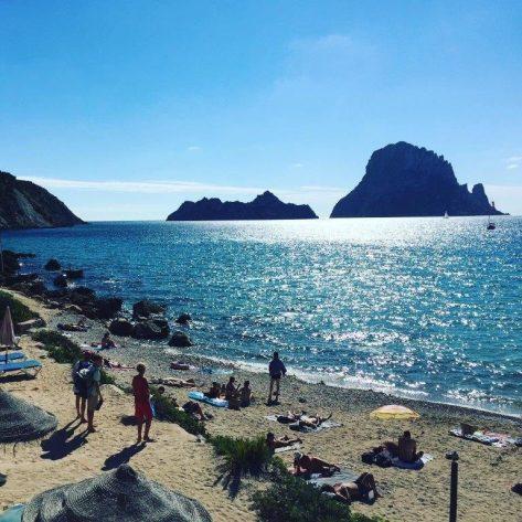 Playa Cala d´Hort en Ibiza