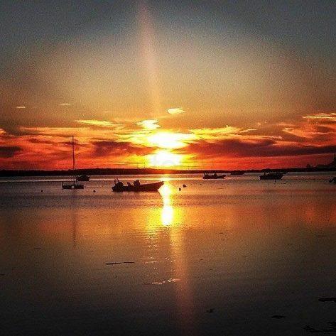 Puesta de sol Estany des Peix Formentera