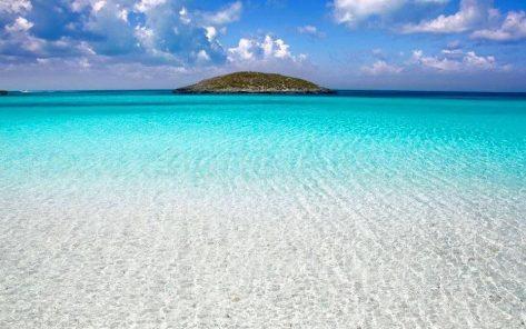playa aguas cristalinas Illetas Formentera