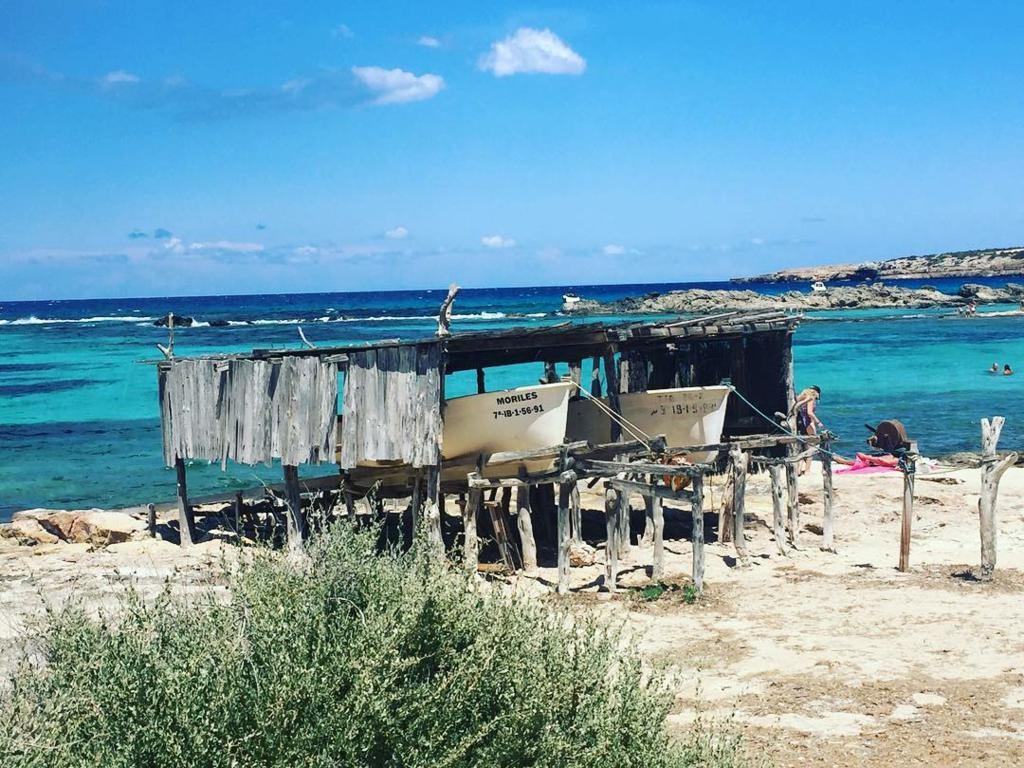 Casetas pescadores Es Pujols Formentera