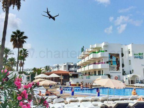 Piscina Apartamentos Jet Ibiza
