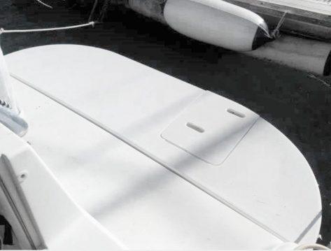 Plataforma de baño Sea Ray 270 alquiler de lanchas ibiza y formentera