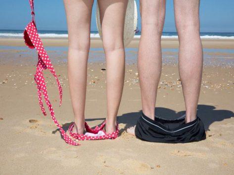 Playa nudista ibiza