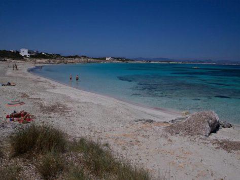 playas nudistas en Formentera