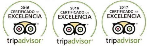Certificado de excelencia CharterAlia español Tripadvisor